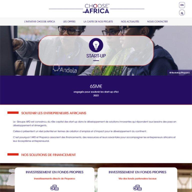 Création site internet institutionnel bilingue - Paris - France