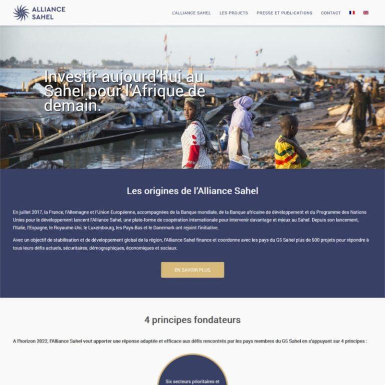 Création site internet association bilingue - Paris